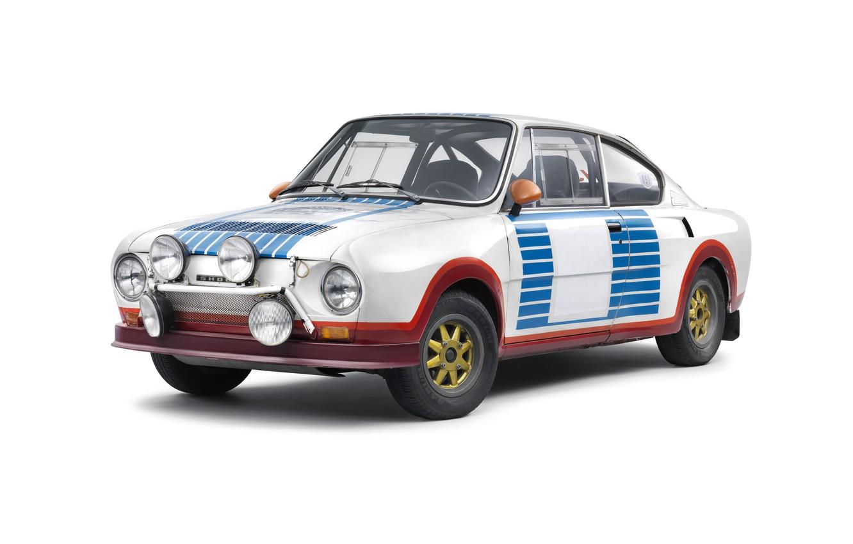 Photo wallpaper rally, racing car, 1974, Skoda, Skoda, Skoda 130RS