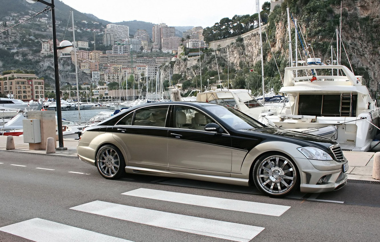 Photo wallpaper Mercedes-Benz, sedan, Carlsson, W221, Aigner, Blanchimont, The S-class, CK65 RS, the fifth generation of its …