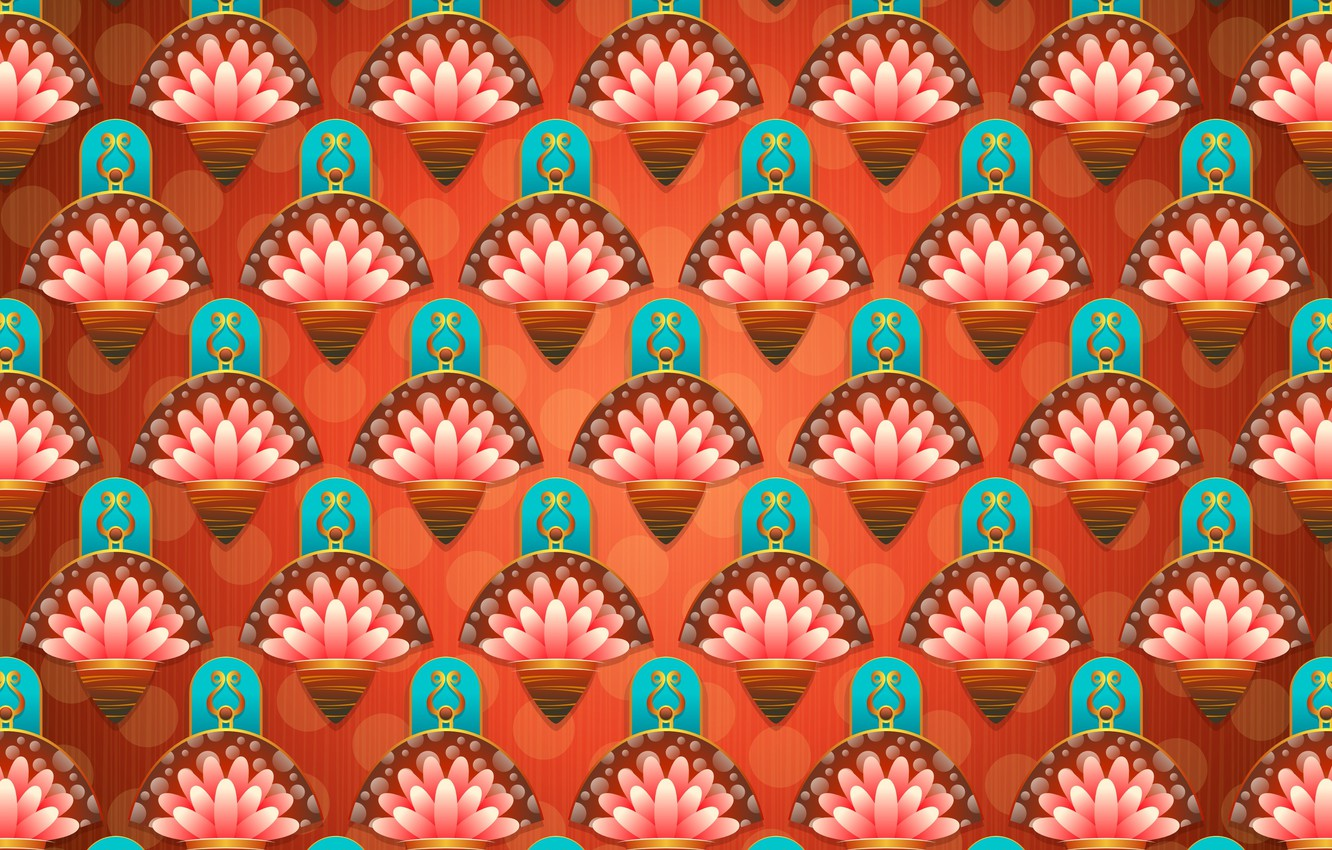 Photo wallpaper flowers, abstraction, background, pattern, texture, ornament
