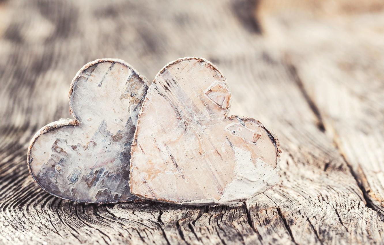 Photo wallpaper love, heart, hearts, love, wood, romantic, hearts, wooden, valentine