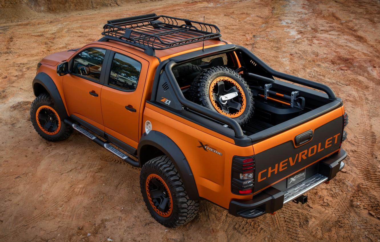 Photo wallpaper Chevrolet, pickup, 4x4, Colorado, Z71, 2016, Xtreme Concept, cargo Bay