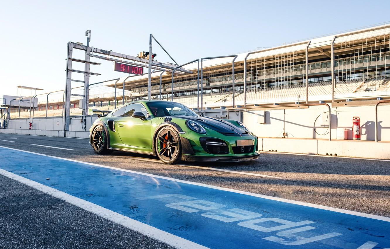 Photo wallpaper 911, Porsche, Turbo S, TechArt, 2019, GT Street RS