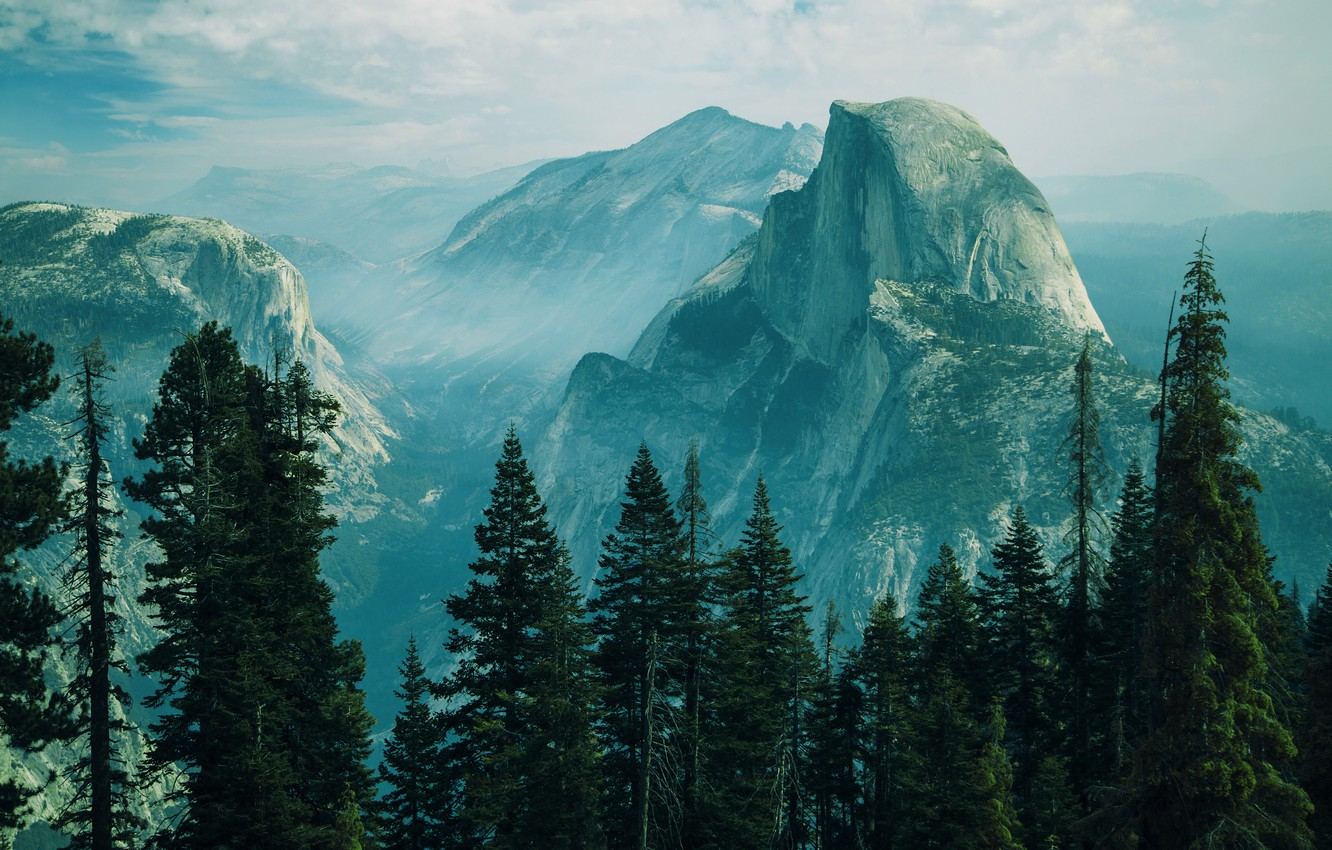 Wallpaper Mountains Forest Ranges Images For Desktop