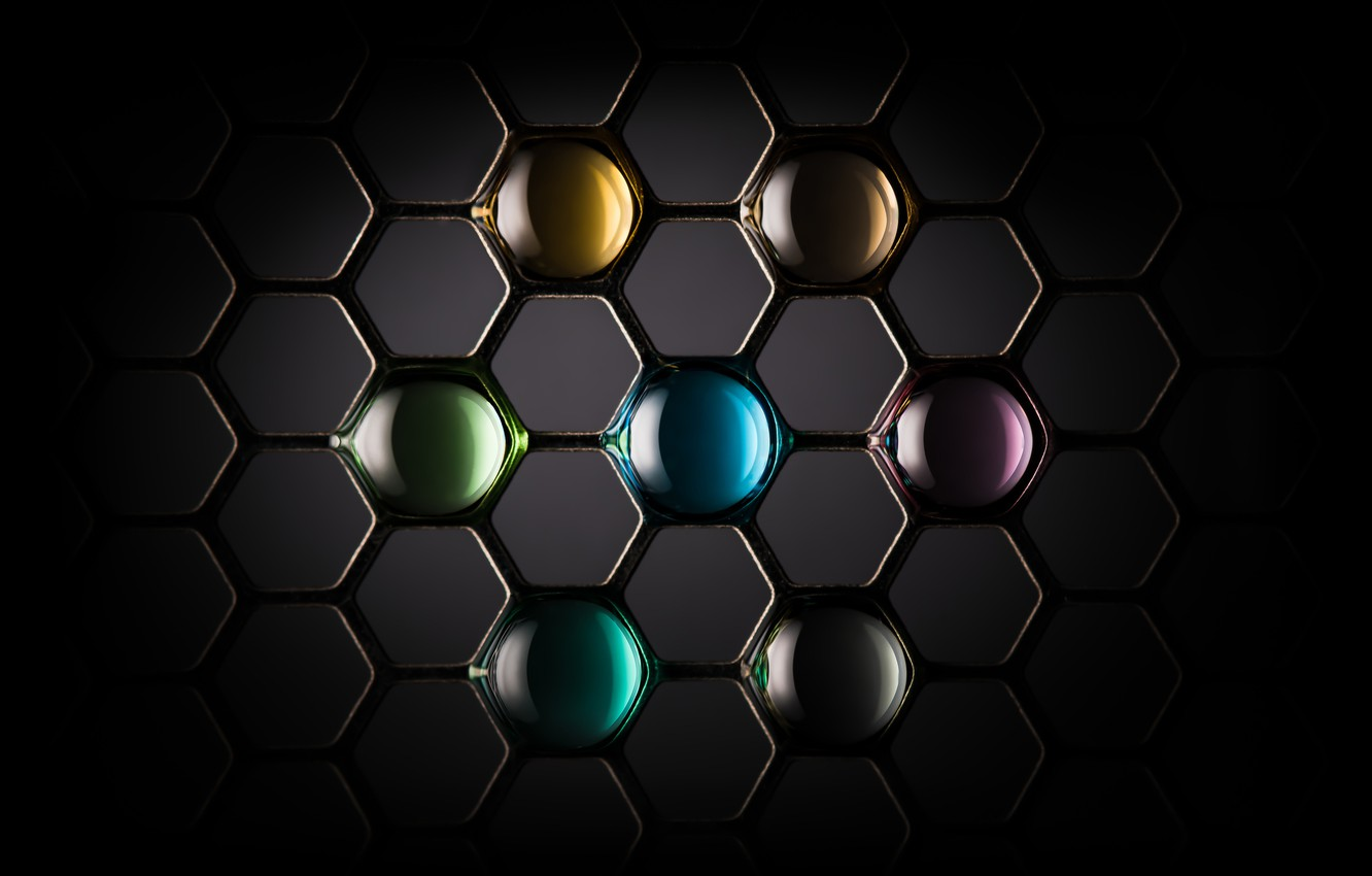 Photo wallpaper grille, stained glass, lattice, stained glass, Adam Neuba