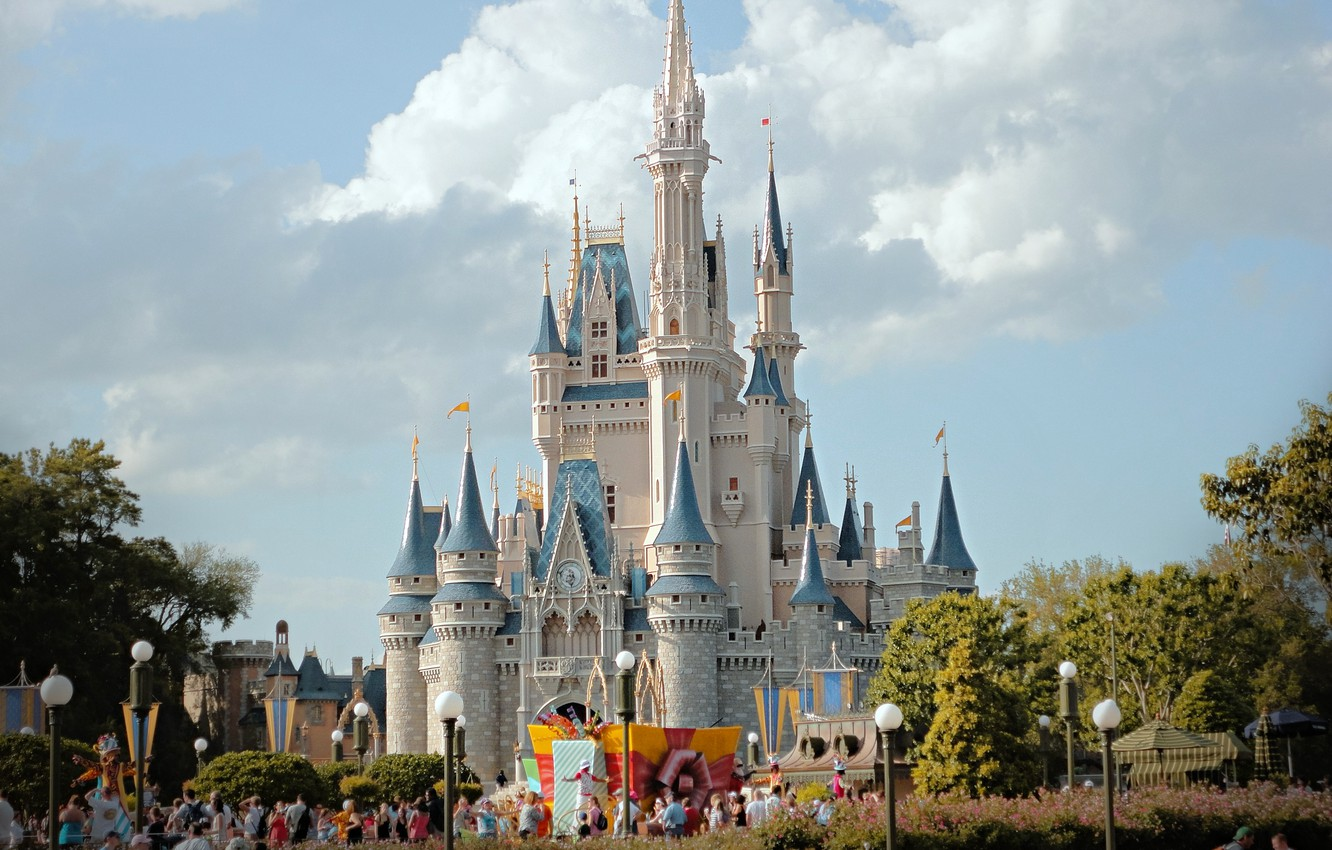 Wallpaper Florida Castle Orlando Disneyland Disney World Images For Desktop Section Gorod Download