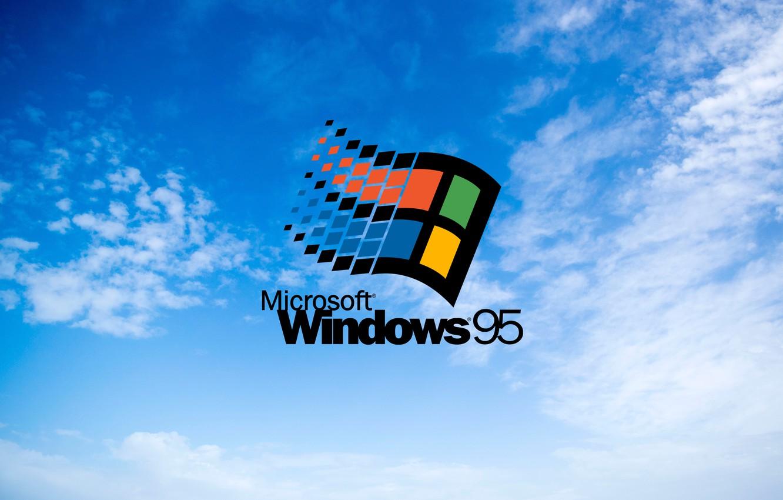 Photo wallpaper window, windows, hi-Tech, windows 95