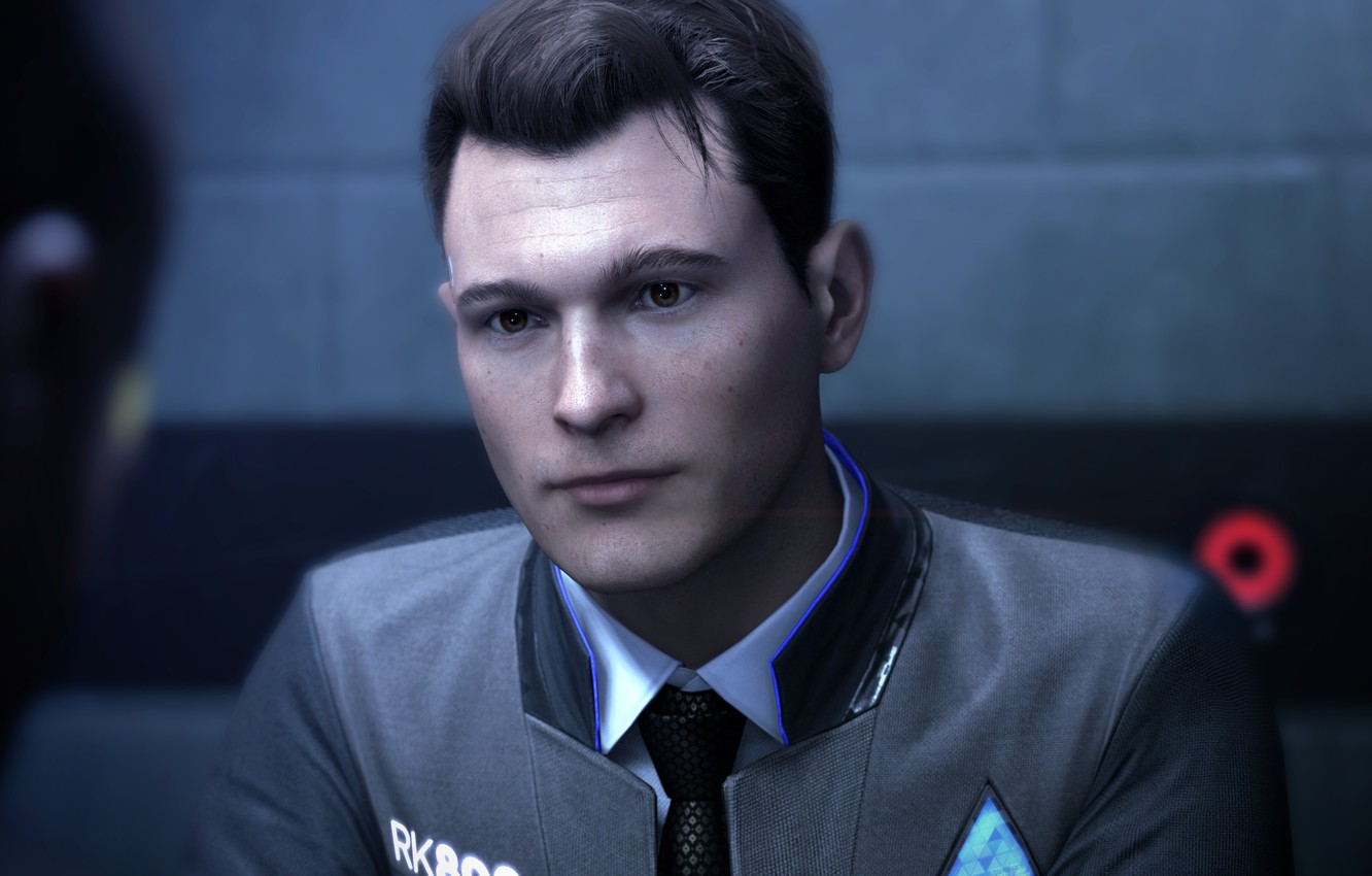 Wallpaper Robot Detective Android Android Connor Detroit