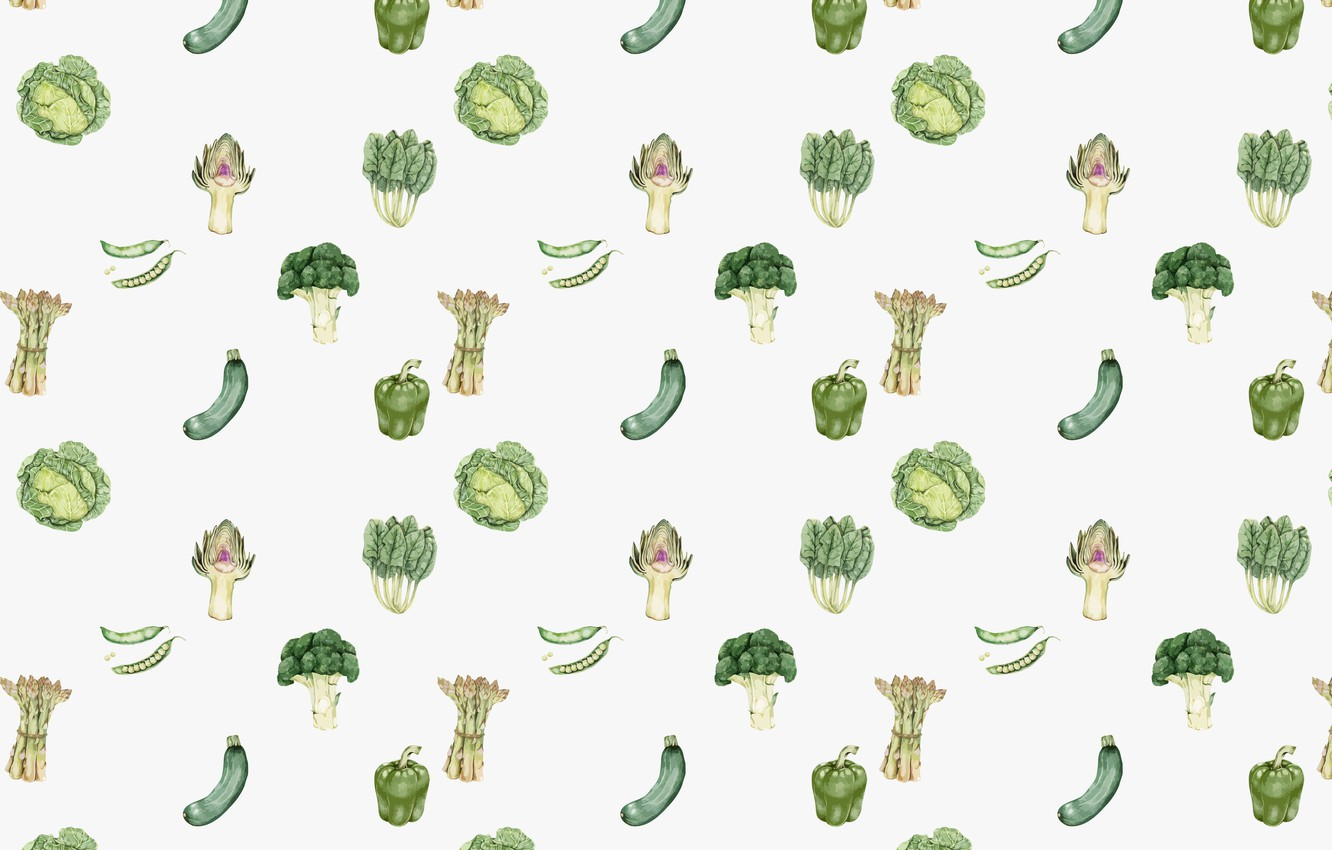 Photo wallpaper white, background, texture, vegetables