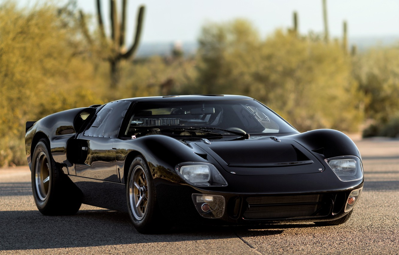 Photo wallpaper Ford, 1965, GT40, Mk I, Ford GT40, GT40 supercar, 1965 Superformance