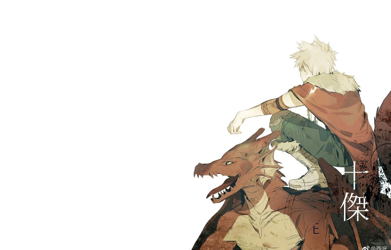 Photo wallpaper dragon, guy, My Hero Academia, Boku No Hero Academy, My Hero Academy, Bakuga Katsuki