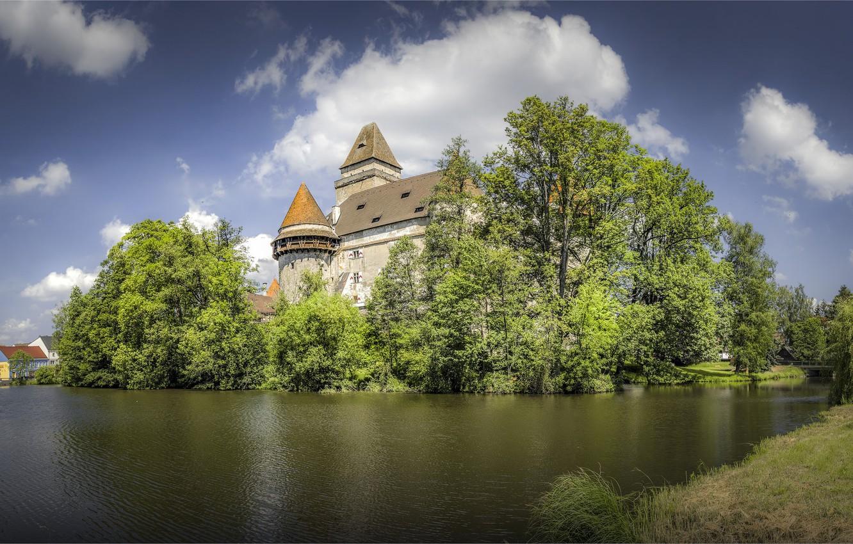 Photo wallpaper castle, Austria, Castle Heidenreichstein
