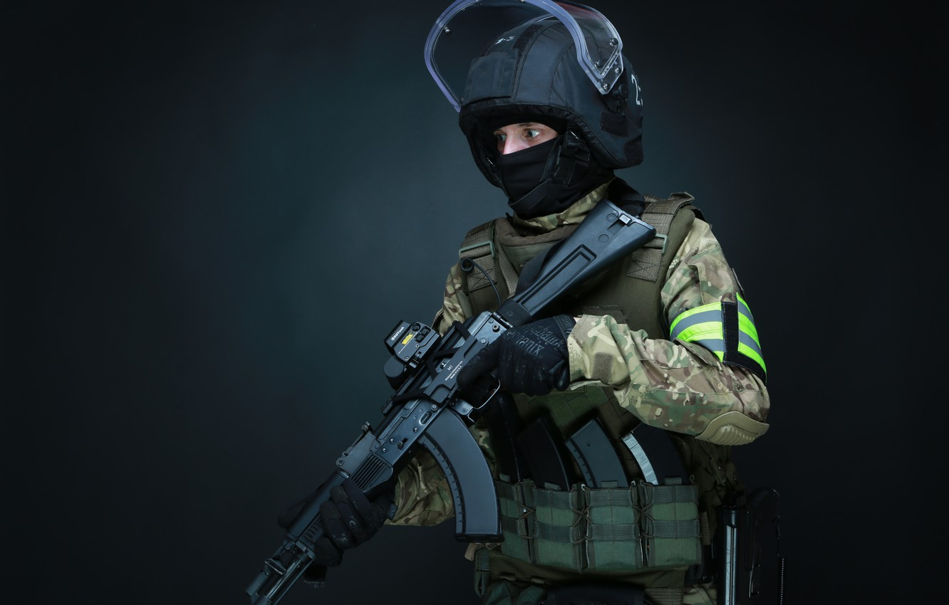 Wallpaper weapons, Army, Machine, Defender, Special forces
