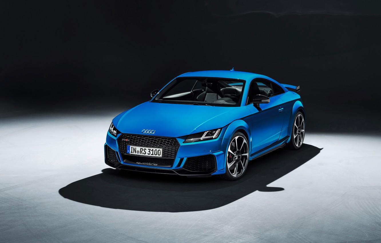 Photo wallpaper machine, design, style, Audi, lights, coupe, shadow, TT RS, 2020