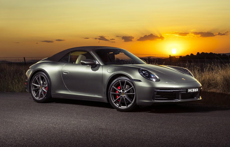 Photo wallpaper Porsche, Porsche 911 Carrera S, Porshe 911