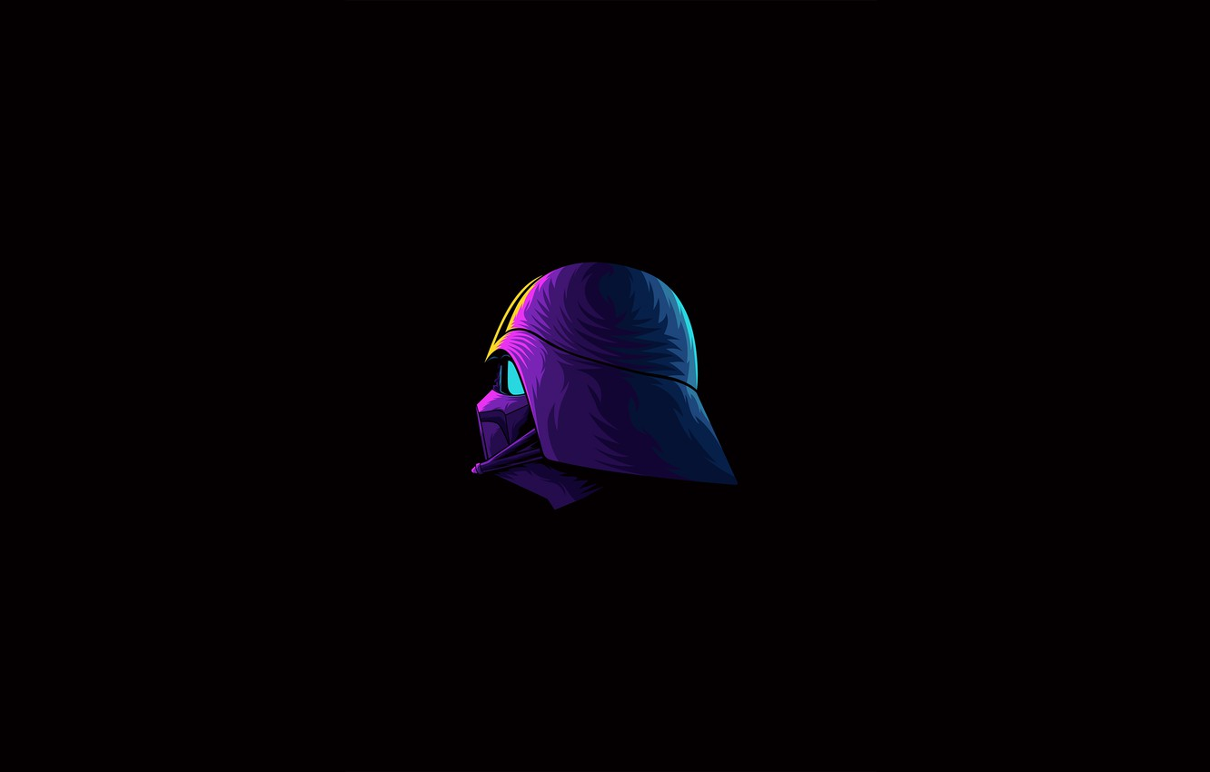 Wallpaper Star Wars Darth Vader Fantasy Minimalism Science Fiction Sci Fi Movie Artist Digital Art Film Artwork Black Background Fantasy Art Pearls Simple Background Vectto Images For Desktop Section Minimalizm Download