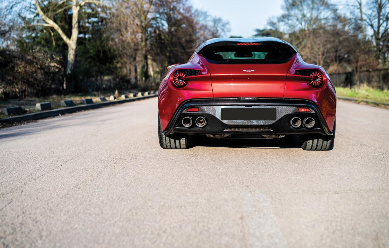 Photo wallpaper Aston Martin, Vanquish, Zagato Shooting Brake