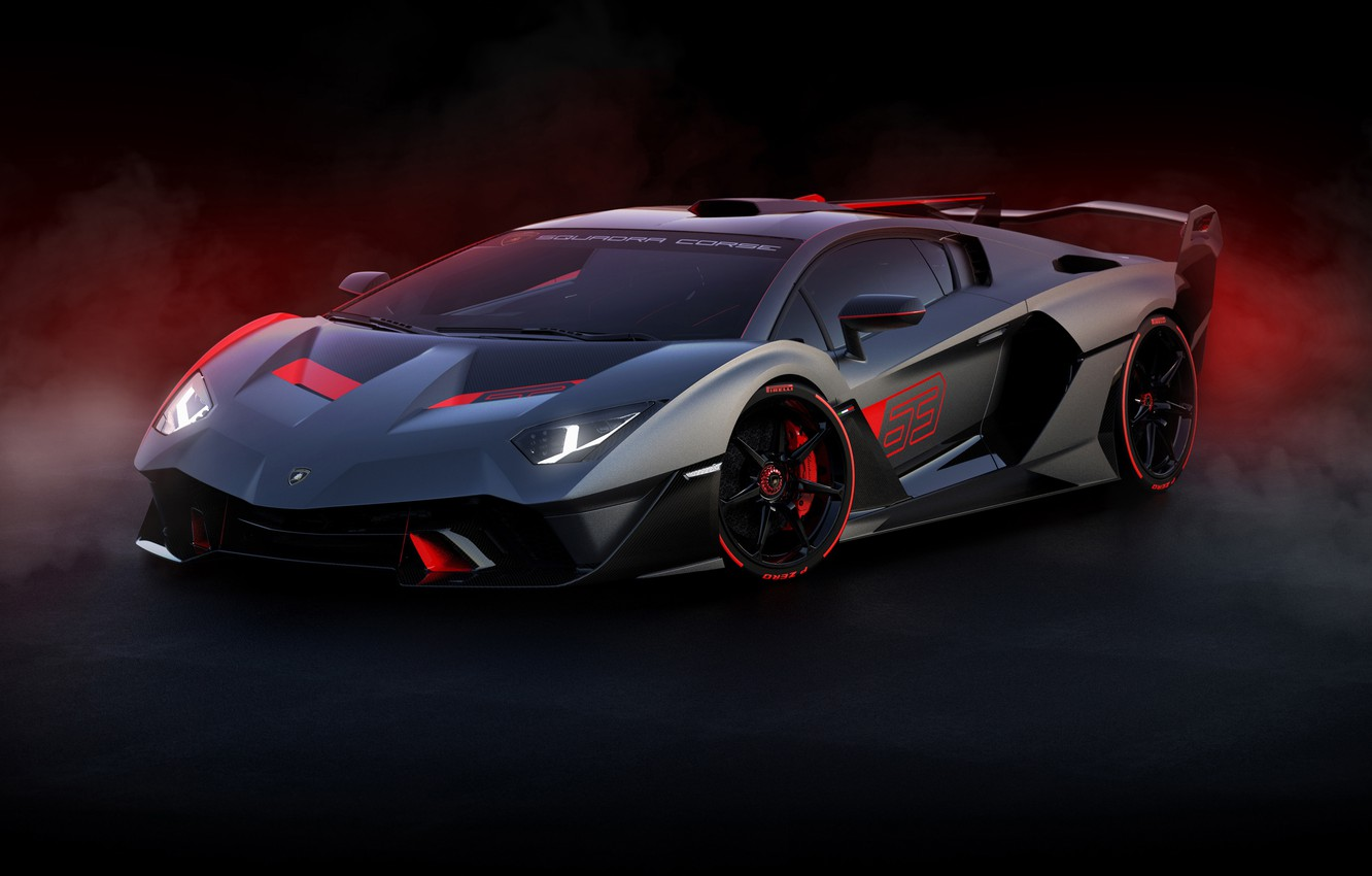 Photo wallpaper Lamborghini, supercar, 2018, SC18