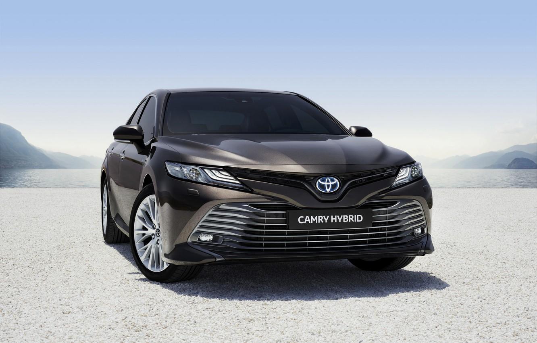 Photo wallpaper Toyota, Hybrid, Camry, 2019, Toyota Camry Hybrid 2019