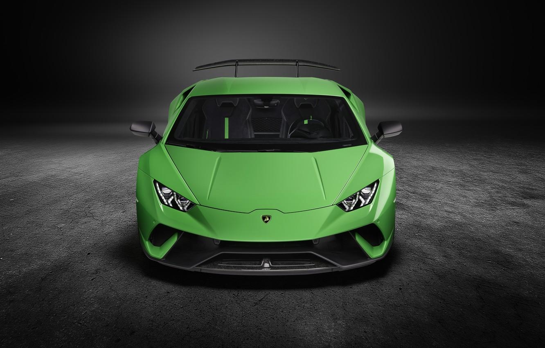 Wallpaper Lamborghini Supercar Front View Performante Huracan