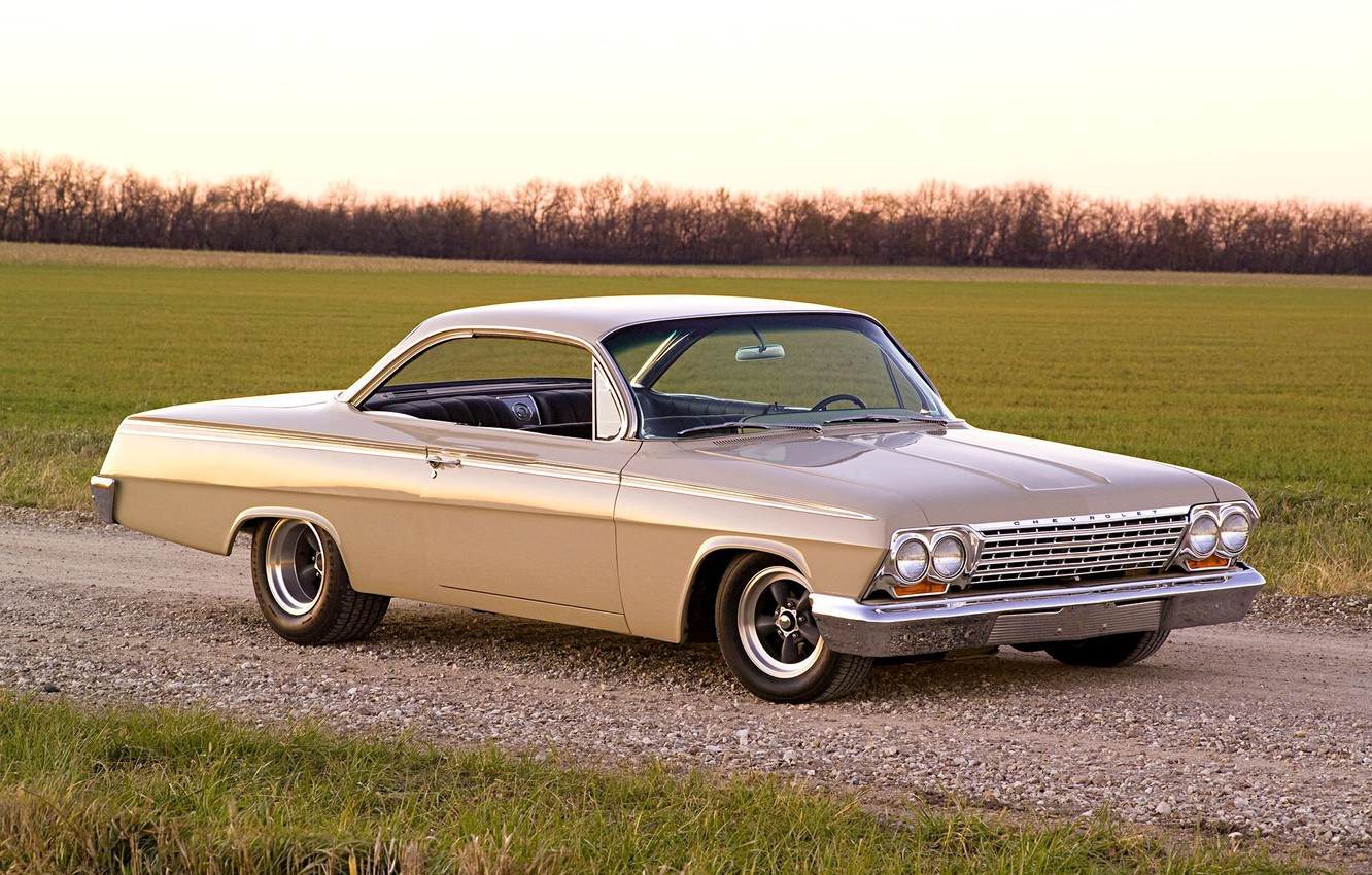 Photo wallpaper Chevrolet, Classic, Bel Air, Coupe, Vehicle