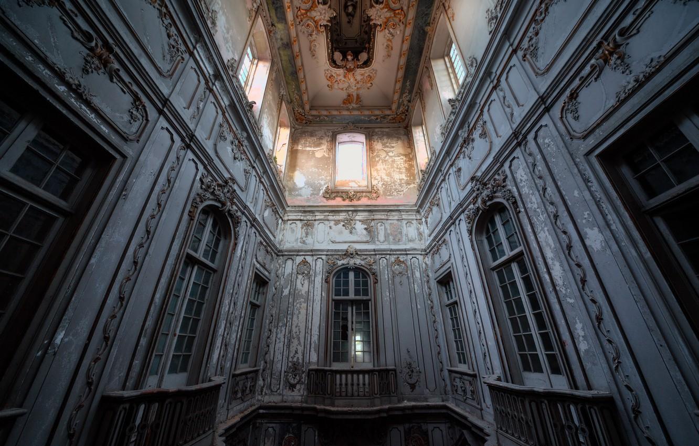 Photo wallpaper house, wall, interior