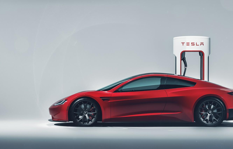 Wallpaper Roadster Tesla 2020 Images For Desktop Section