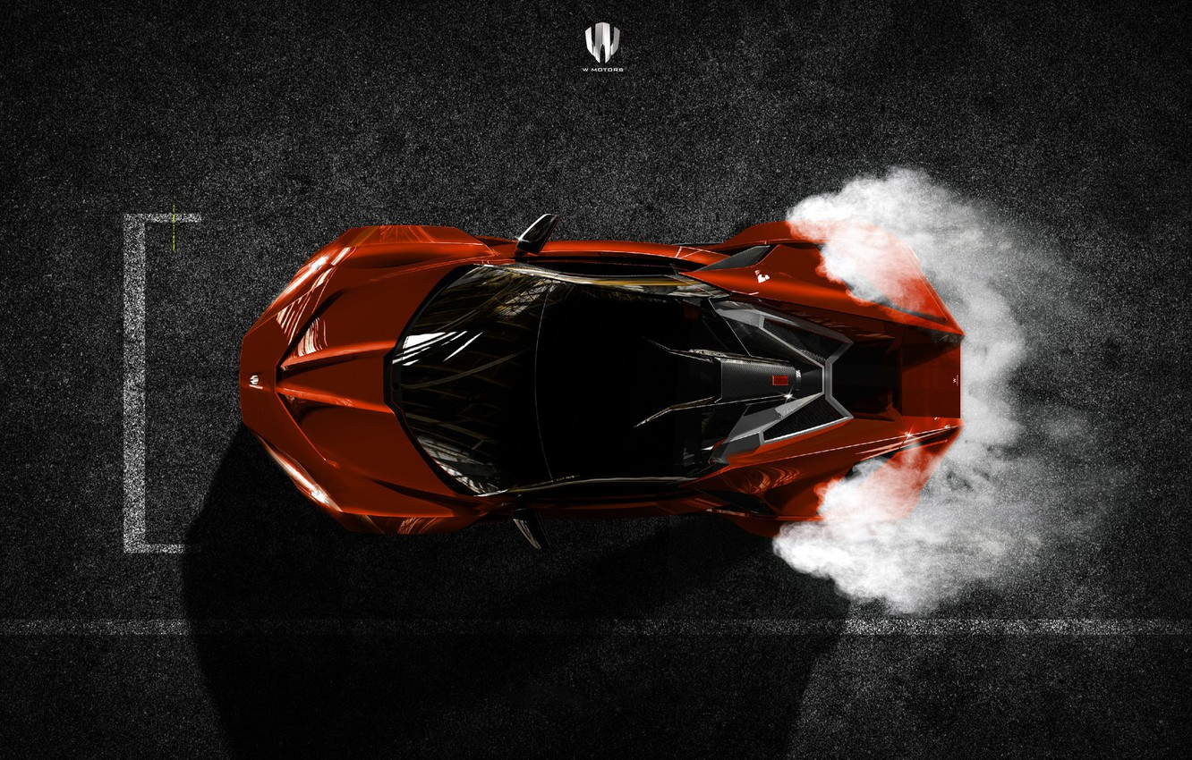 Photo wallpaper Auto, The view from the top, Rendering, Supercar, Concept Art, Sports car, SuperSport, Transport & …
