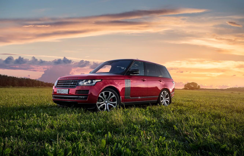 Photo wallpaper Range Rover, Autobiography, Dynamic