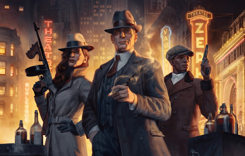 Photo wallpaper Paradox Interactive, Empire of Sin, Romero Games