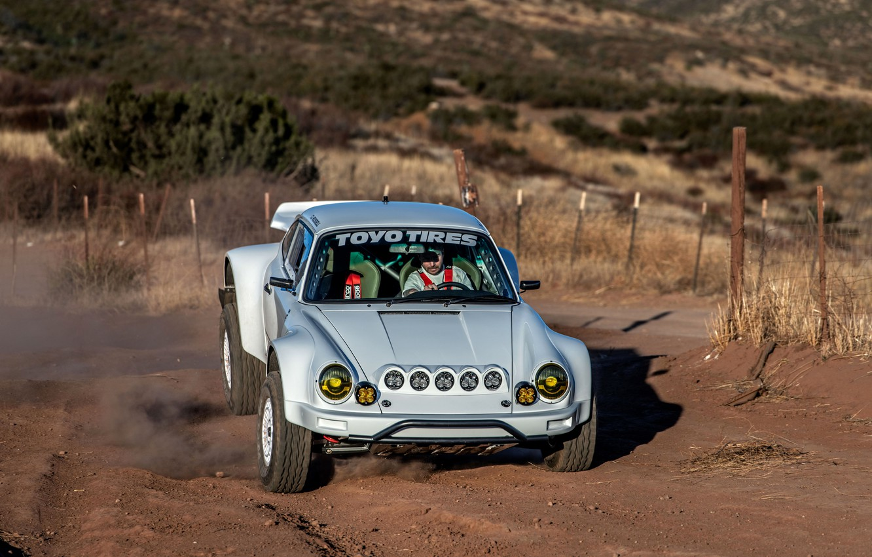Photo wallpaper tuning, 911, Porsche, 964, 2019, 911 Baja Prototype, Russell Built Fabrication