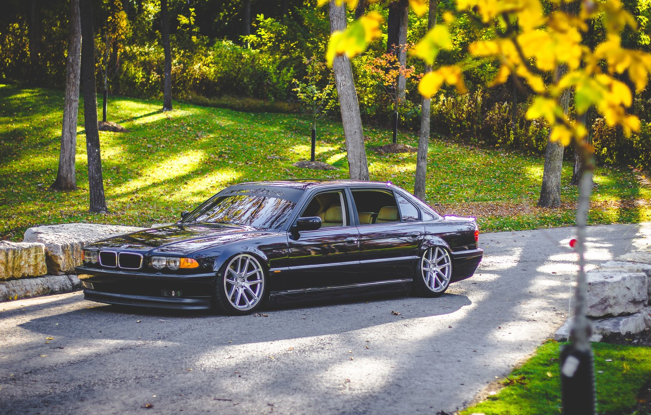 Photo wallpaper car, bmw, BMW, Boomer, e38, 7 series, E38