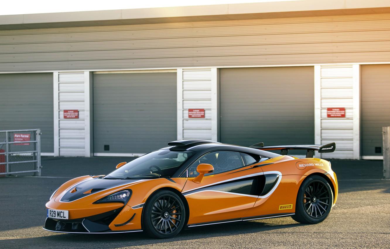 Photo wallpaper coupe, McLaren, supercar, 2020, V8 twin-turbo, 620R, 620 HP, 3.8 L.
