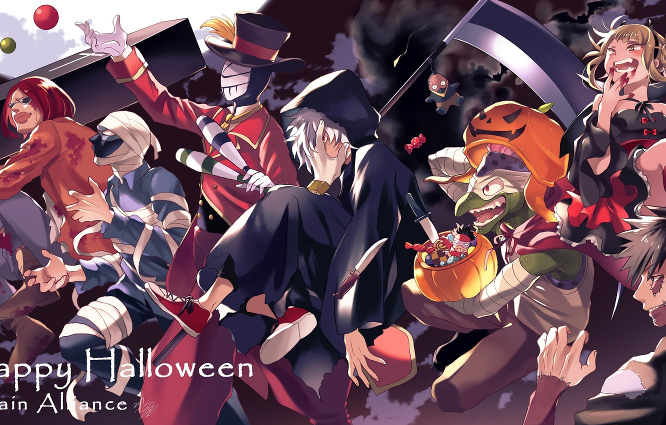 Photo Wallpaper Anime My Hero Academia Villains