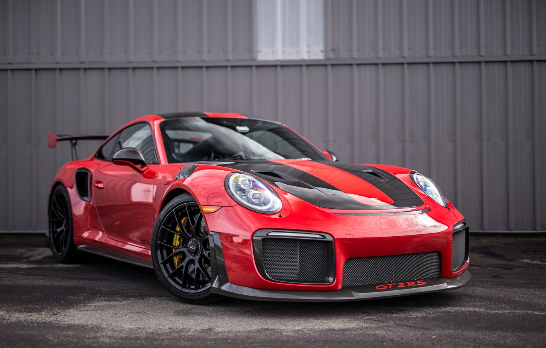 Photo wallpaper 911, Porsche, GT2, RED, VAG