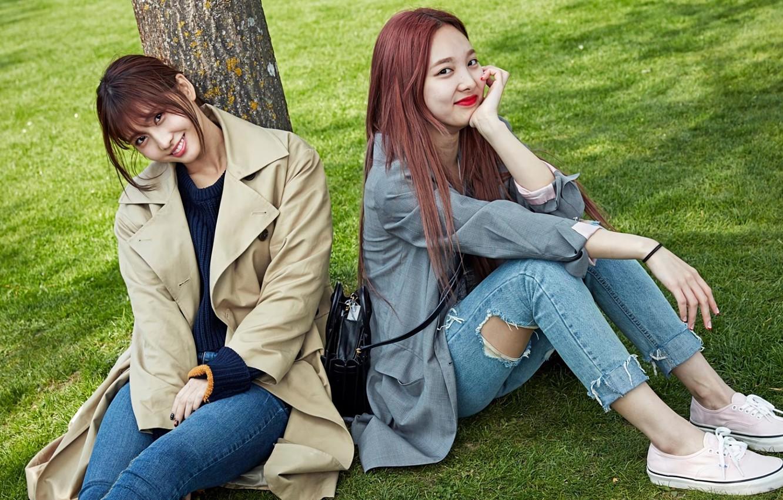 Photo wallpaper Music, Girls, Kpop, Momo, Twice, Nayeon