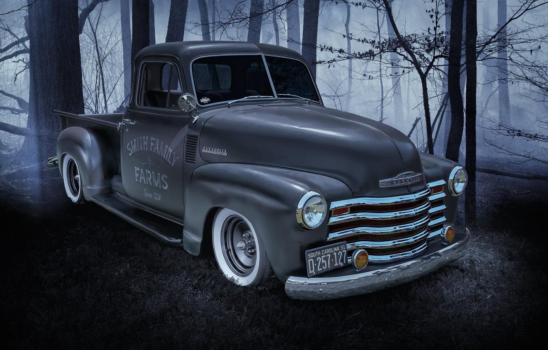 Photo wallpaper Chevrolet, Machine, pickup, the front