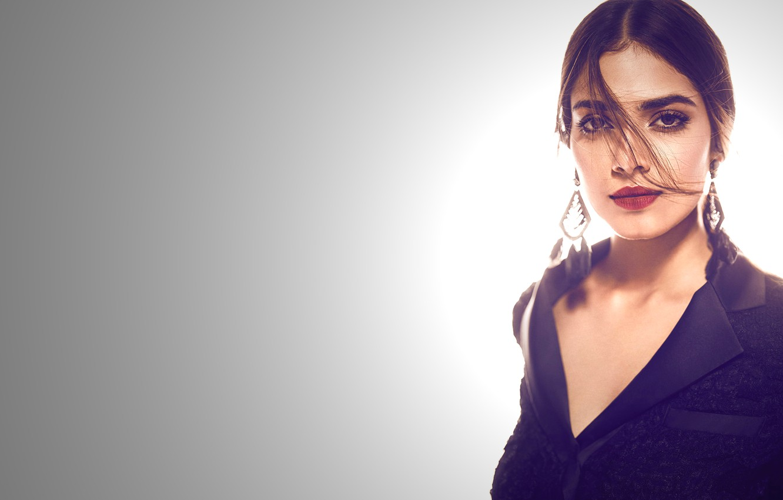 Photo wallpaper girl, hot, sexy, eyes, smile, beautiful, model, beauty, lips, face, hair, pose, indian, actress, bollywood, …