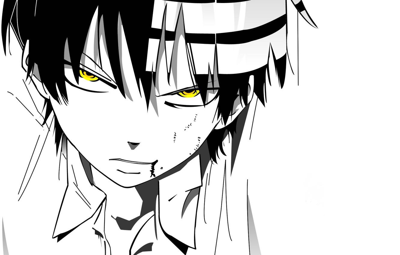 Wallpaper Look Anime White Background Guy Soul Eater Soul