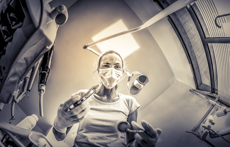 Photo wallpaper hospital, the doctor, Psychopathe