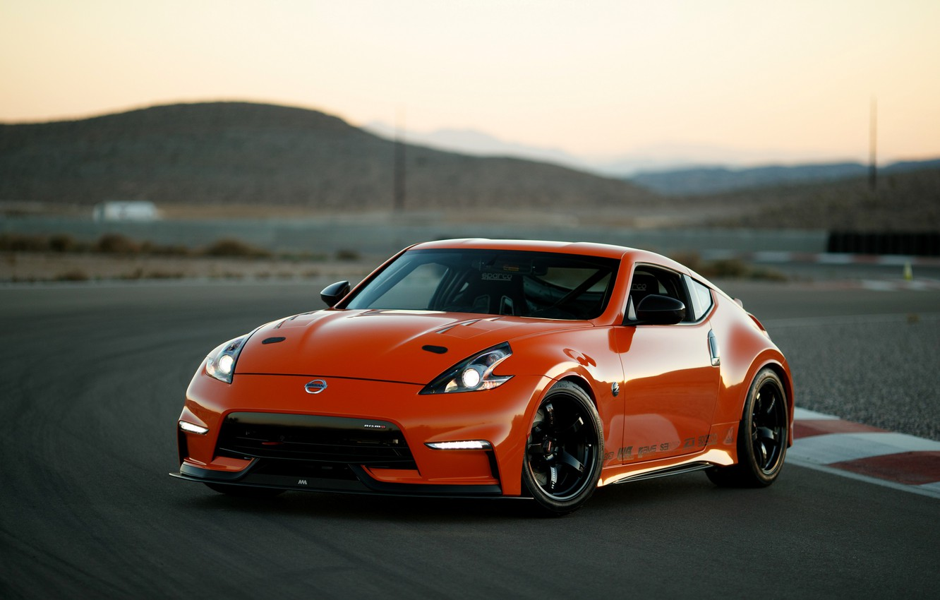 Photo wallpaper coupe, Nissan, track, 2018, 370Z, Nismo, Project Clubsport 23