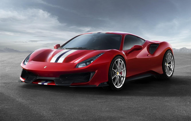 Photo wallpaper auto, Ferrari, supercar, Ferrari 488 Track