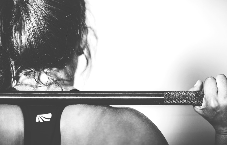 Photo wallpaper girl, Style, fitness