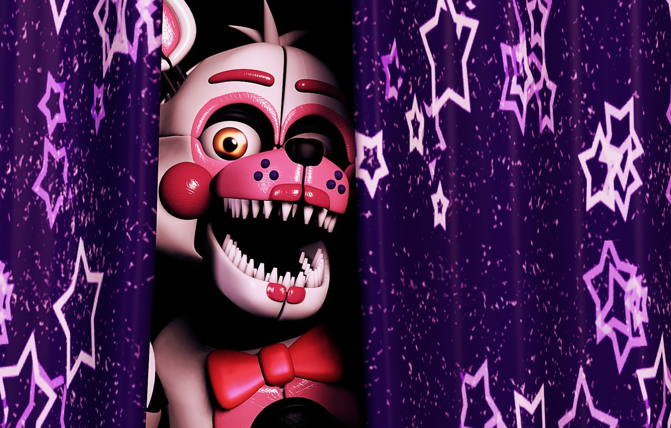 Wallpaper The Game Curtain Five Nights At Freddy S Five Nights