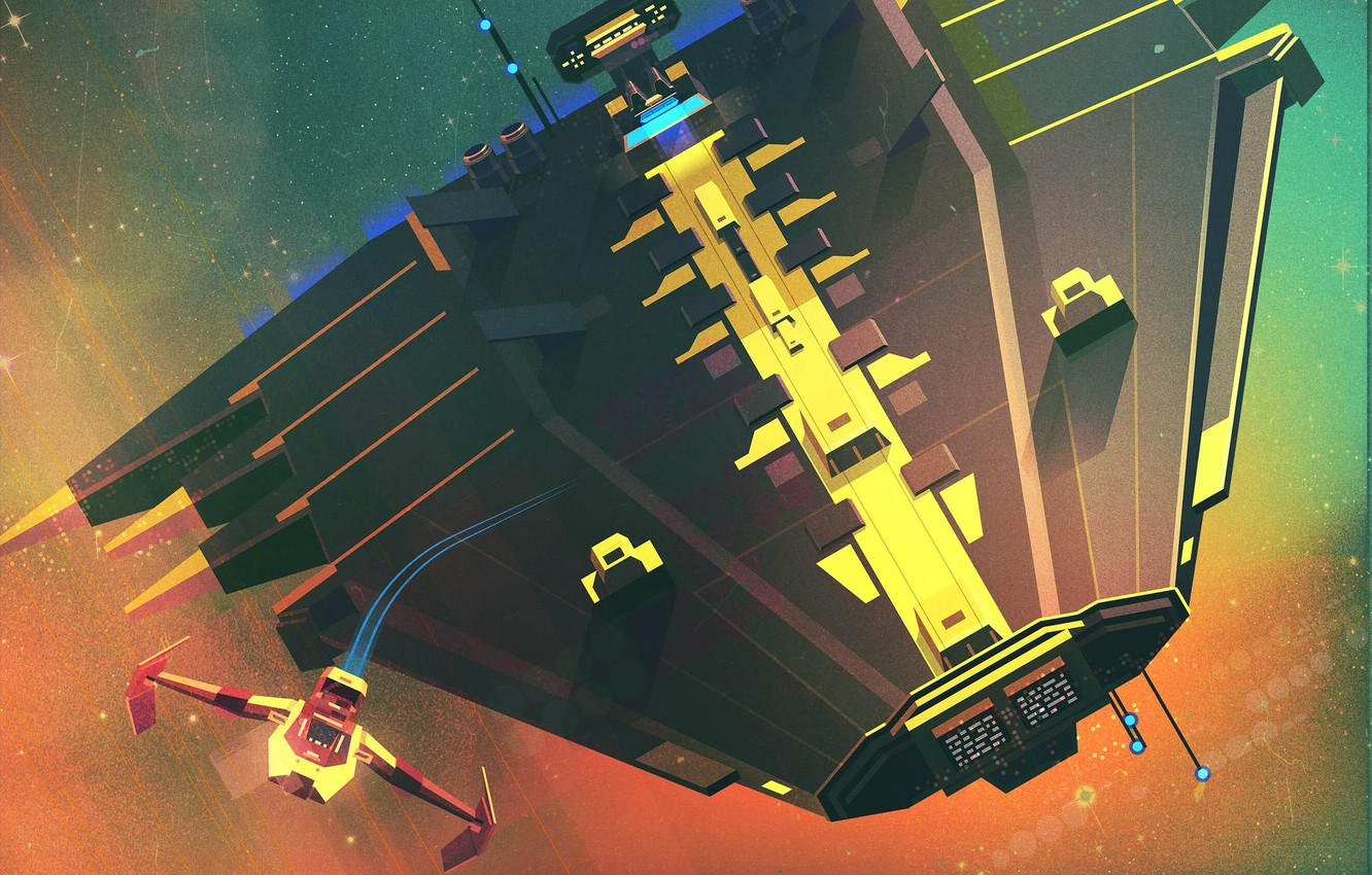 Wallpaper The Game Space Style Art Space Art Spaceship