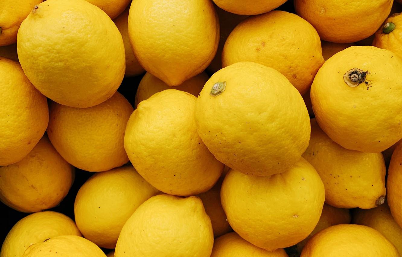 Photo wallpaper fruit, citrus, lemons