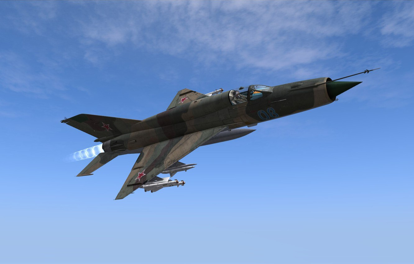 Photo wallpaper OKB MiG, MiG-21bis, Frontline fighter