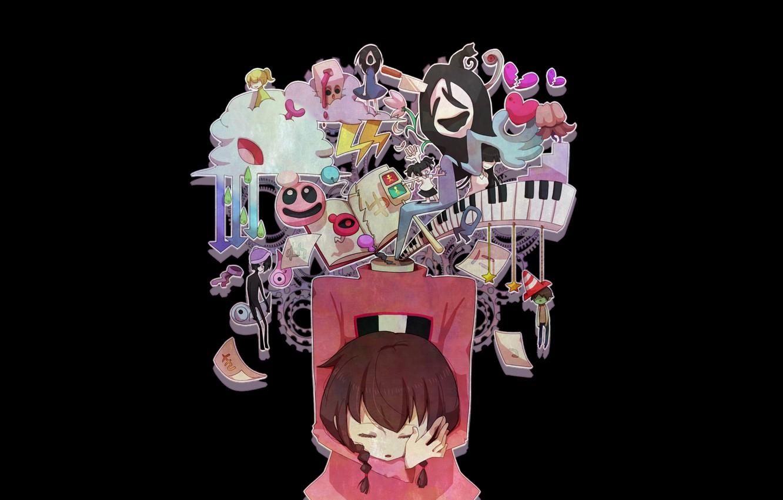 Photo wallpaper the game, girl, Yume Nikki