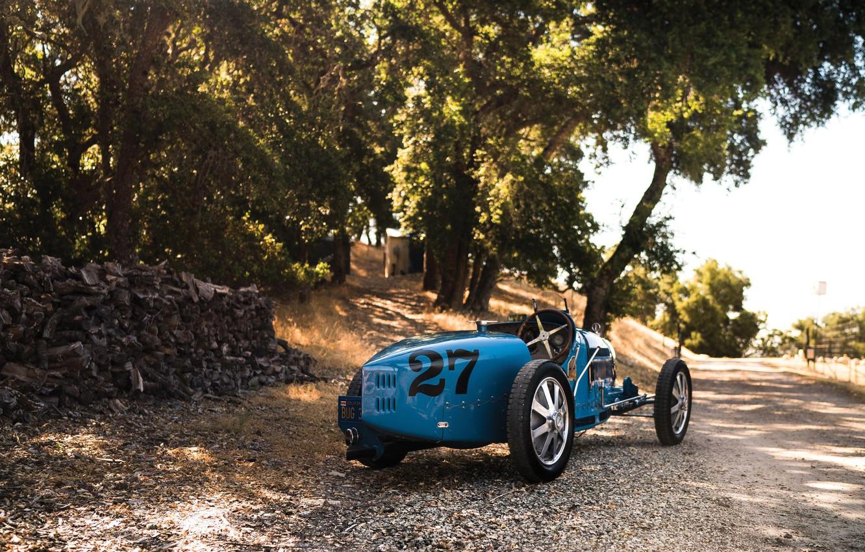 Photo wallpaper vintage, retro, classic, 1927, sporcar, Bugatti Type 35C