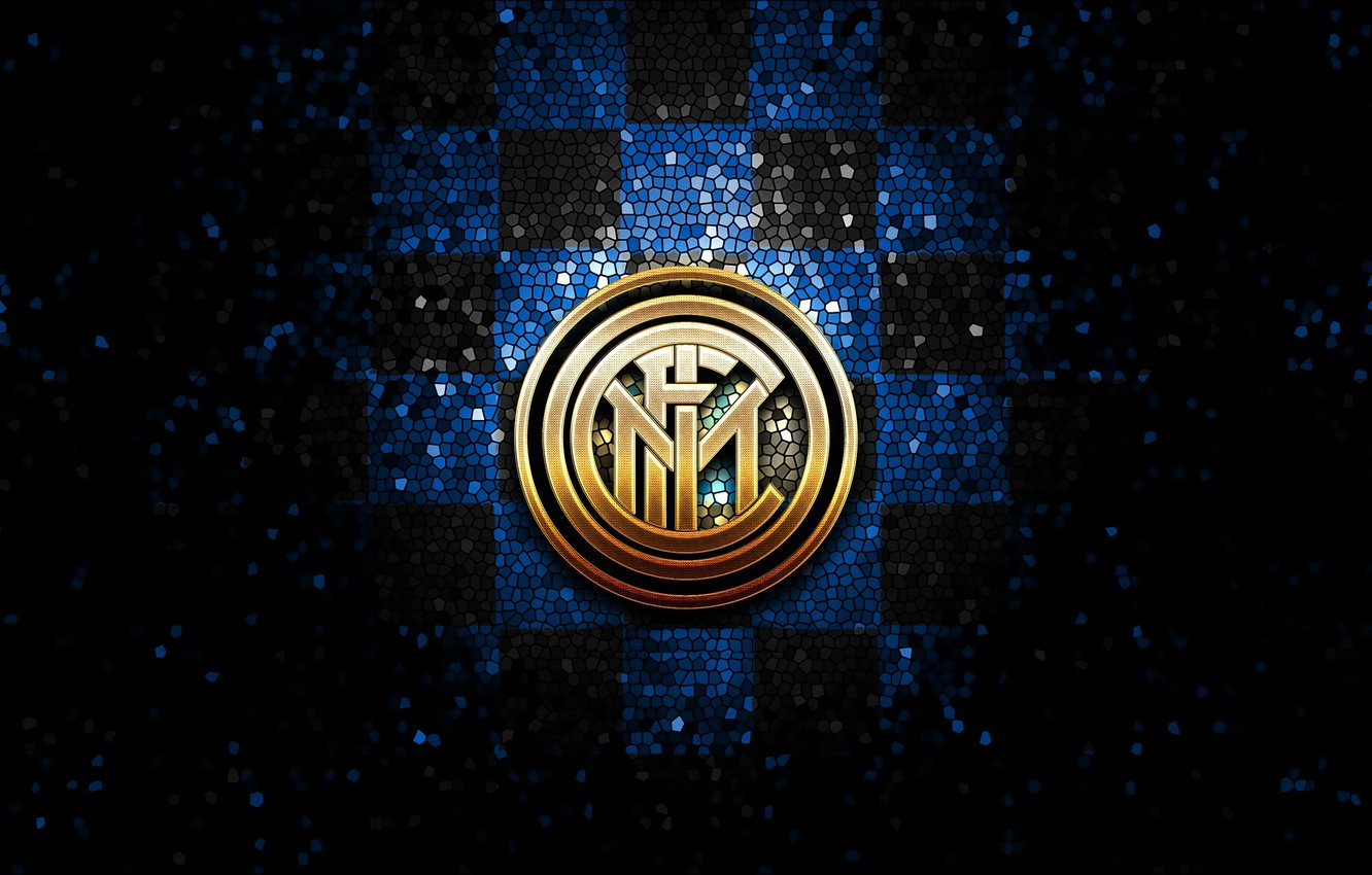 Wallpaper Wallpaper Sport Logo Football Inter Milan Glitter Checkered Images For Desktop Section Sport Download