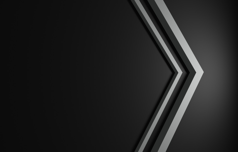 Photo wallpaper minimalism, line, black background